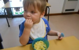 Meals at Baby care centre