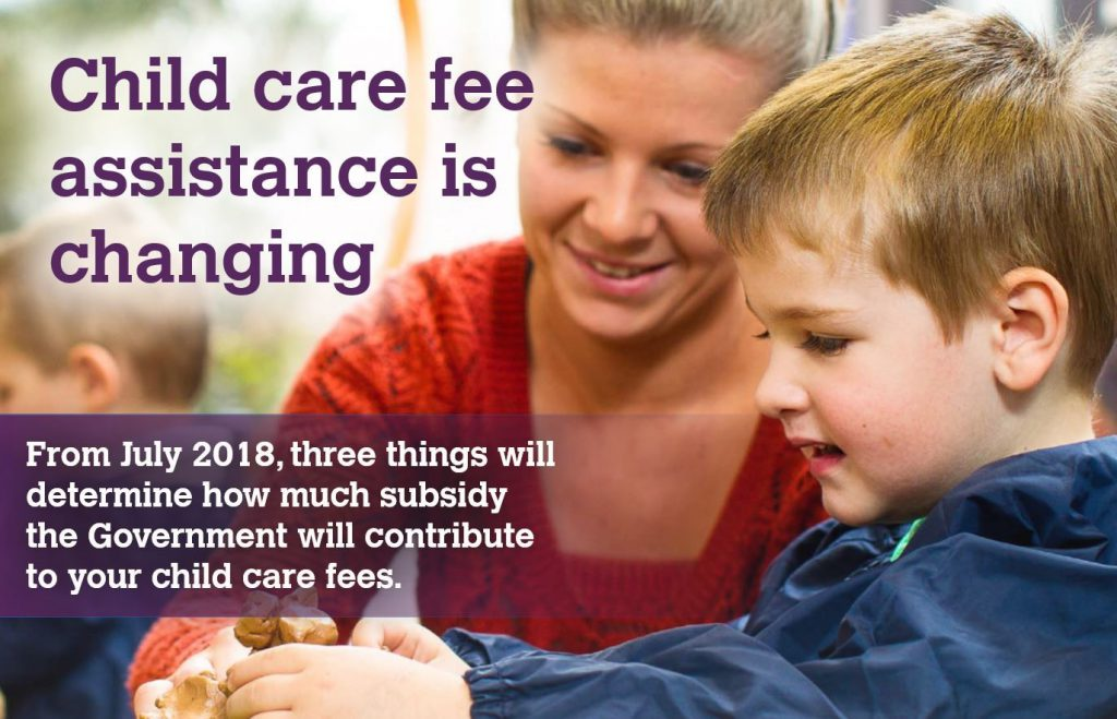 Child Care Fee Assistance Changing