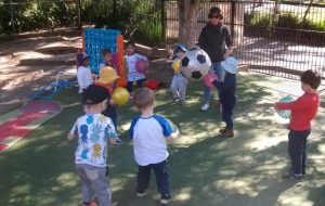 Preschool Playing Activity