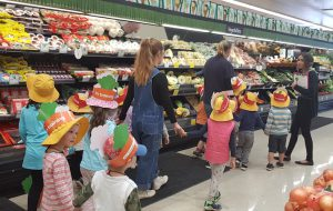 Fruit and Vegetable Tour at Woolworths